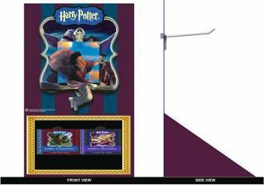 Harry Potter: Hanging Pop-Up Stockpack (12 Copy + 1 Free)