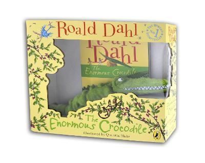 The Enormous Crocodile: Book and Toy Gift Set