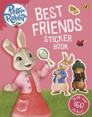 Peter Rabbit Animation: Best Friends Sticker Book Cover Image