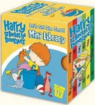 Harry And His Bucketfull Of Dinosaurs: Let's Get Dino SmartMini Library