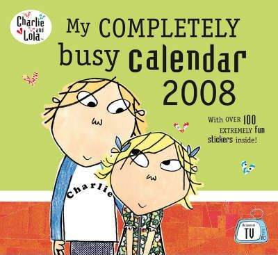 My Completely Busy Calendar 2008