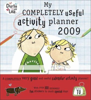 My Completely Useful Activity Planner 2009