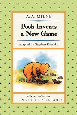 Pooh Invents a New Game (Puffin Easy-To-Read)