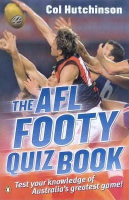 Afl Footy Quiz Book