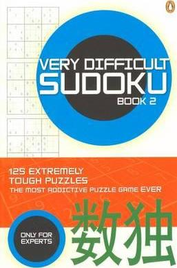 Very Difficult Sudoku: Bk. 2
