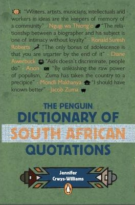 The Penguin Dictionary of South Africa Quotations