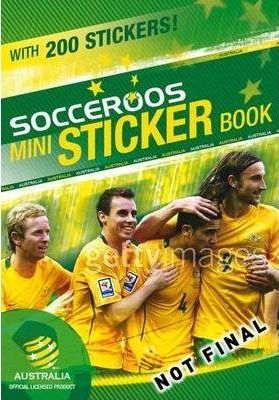 Socceroos Mini Sticker Book