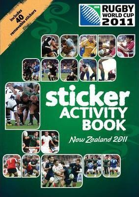 Rugby World Cup 2011 Sticker Activity Book