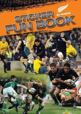 All Blacks Sticker Fun Book