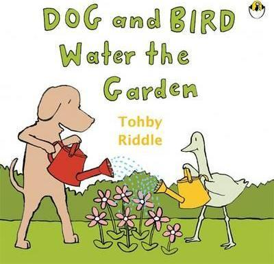 Dog & Bird Water The Garden