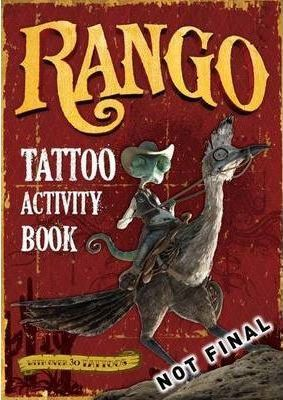Rango: Activity Book with Tattoos
