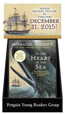 In the Heart of the Sea 6-Copy Counter Display W/ Riser