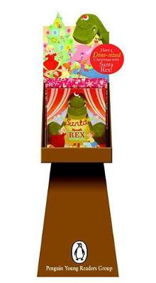 Santa Rex 8-Copy Floor Display W/ Riser and Gwp Wrapping Paper