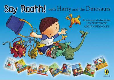 Harry and the Dinosaurs Flat Poster