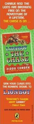 Lionboy: the Chase Bookmarks (Pack of 50)