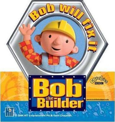 Bob the Builder Shelf Wobbler