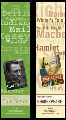 Rough Guide to Shakespeare/Cult Fiction Bookmarks (Pack of 50)