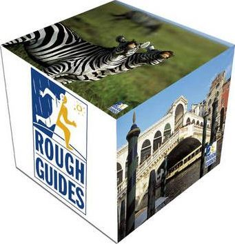 Rough Guides GBP2 Off Promotion 2006 Display Cube