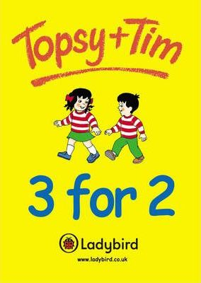 Topsy and Tim 3 for 2 Showcard