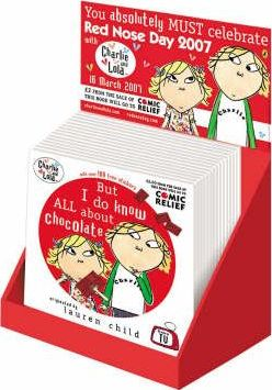 Charlie and Lola Comic Relief Empty Counterpack