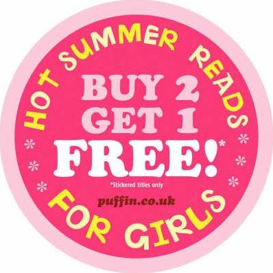Summer Reads for Girls Stickers