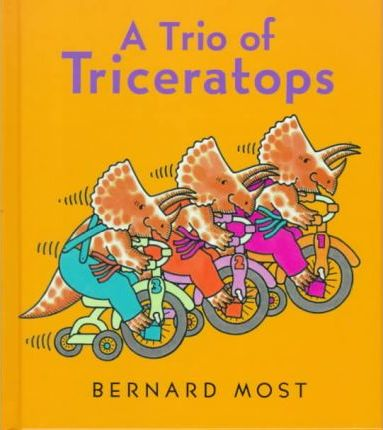 A Trio of Triceratops
