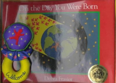 On the Day You Were Born Book-And-Rattle Set