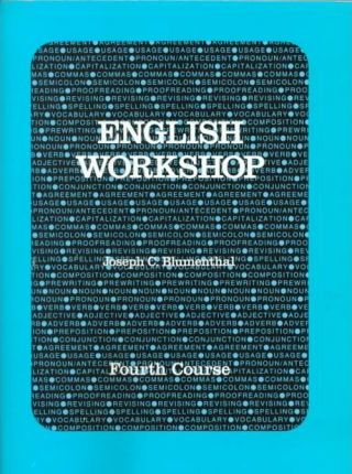 English Workshop 4th Course