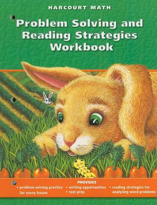 California Harcourt Math Problem Solving and Reading Strategies Workbook, Grade 1