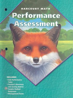 California Harcourt Math: Performance Assessment, Grade 5
