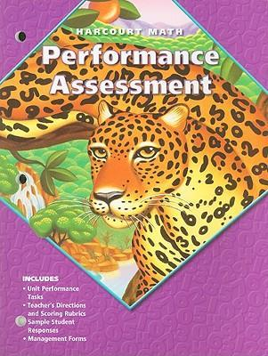 California Harcourt Math Performance Assessment
