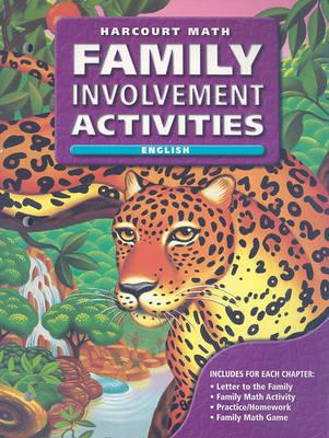Harcourt Math: Family Involvement Activities, Grade 6