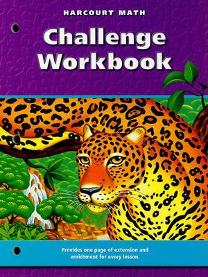 Harcourt Math Challenge Workbook, Grade 6