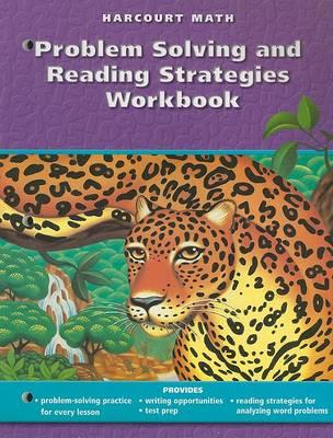 Harcourt Math Problem Solving and Reading Strategies Workbook, Grade 6