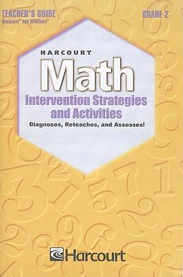 Harcourt Math Intervention Strategies and Activities, Grade 2