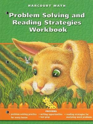 Harcourt Math Problem Solving and Reading Strategies Workbook, Grade 1