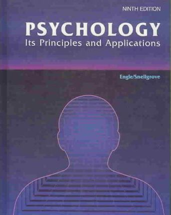 Psychology Its Principles and Applications