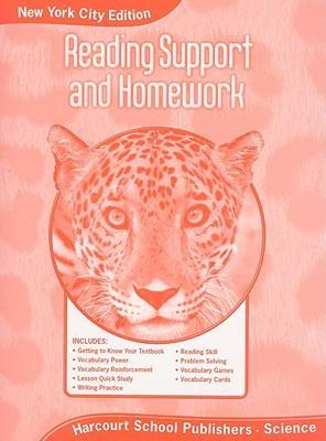 New York City Science Reading Support and Homework, Grade 5