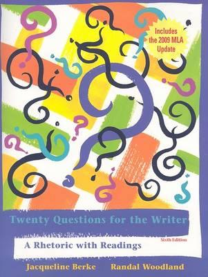 Twenty Questions for the Writer