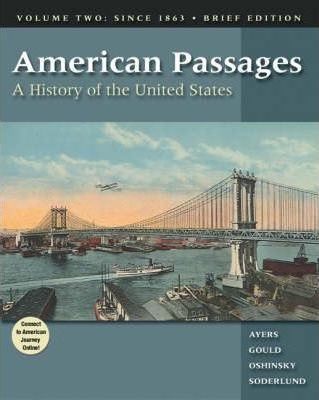 American Passages: Since 1863 v.2