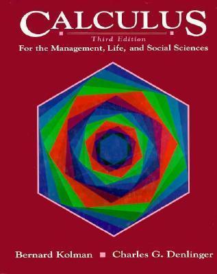 Calculus for the Management, Life and Social Sciences