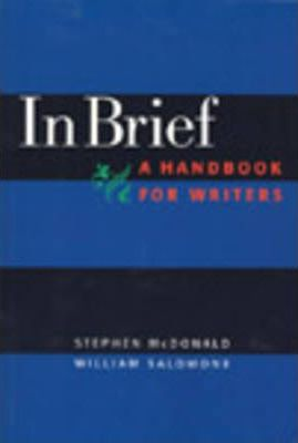 In Brief, a Handbook for Developmental Writers