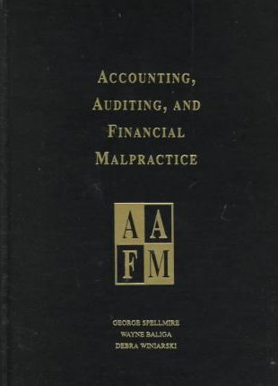 Accounting, Auditing, and Financial Malpractice