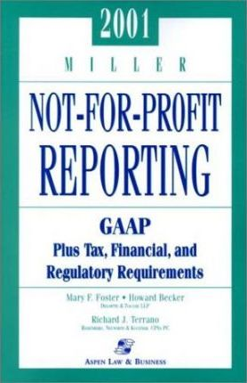 Miller Not-for-Profit Reporting 2001