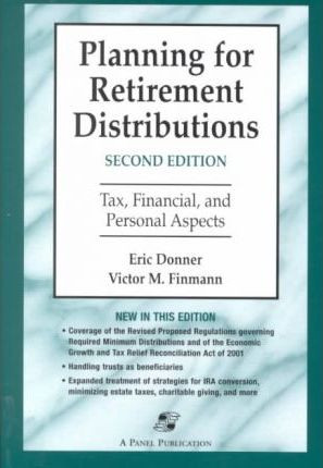 2001 Planning for Retirement Distributions