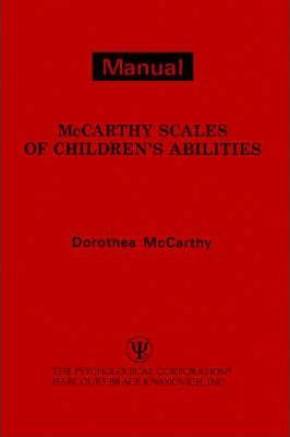 McCarthy Scales of Children's Abilities