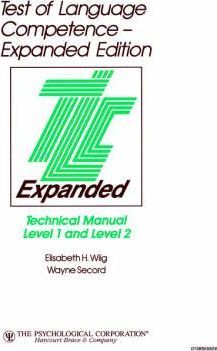 TLC Expanded Technical Manual