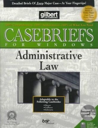 Administrative Law (Diskette for Windows)