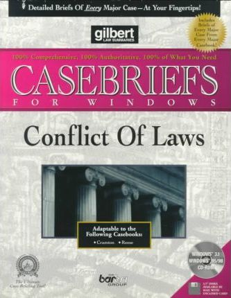 Conflict of Laws (Diskette for Windows)