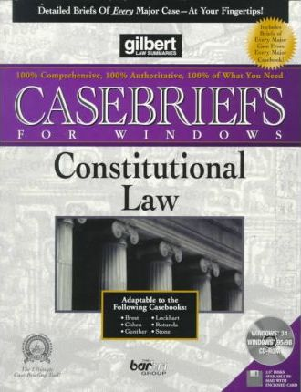 Constitutional Law (Diskette for Windows)